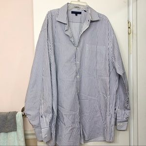 Tommy Hilfiger Regular Fit Striped Dress Shirt
